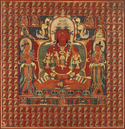 Unknown Tibetan, 'Thangka of Amitayus', 14th century