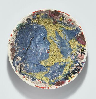Viola Frey, 'Crocker Series II (Blue Profile, Hand Drawing Horse)', 1978