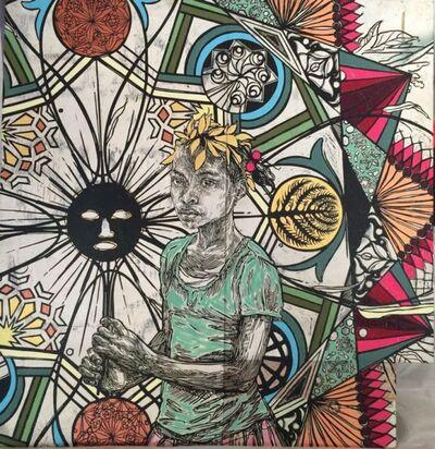 Swoon, 'Edline', 2015