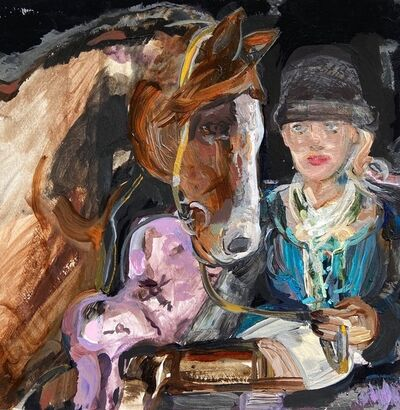 Suzy Spence, 'Chestnut Chesterfield', 2020