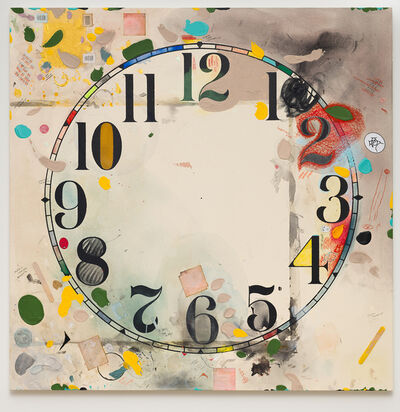 Amanda Ross-Ho, 'Untitled Timepiece (PERMANENT DAMAGE/WIDELY HELD ASSUMPTIONS)', 2019-2020