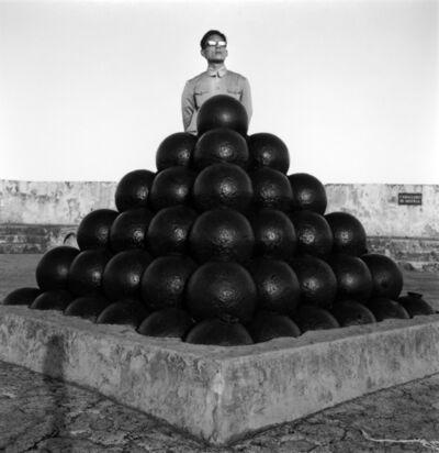 Tseng Kwong Chi, 'Cannon Balls, Puerto Rico', 1987