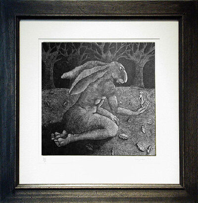 Sophie Ryder, 'Lady-Hare with Trees', 1999