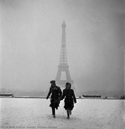 Lee Miller, 'The veiled Eiffel tower from the Palais de Chaillot, Paris', 1945