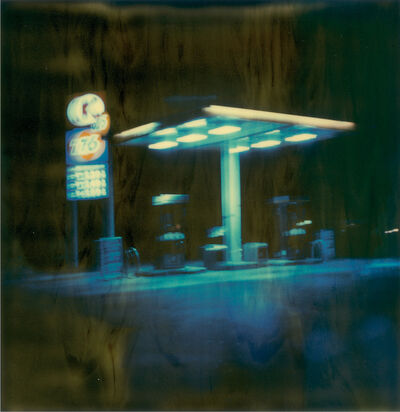 Stefanie Schneider, 'Gas Station at Night II', 1999