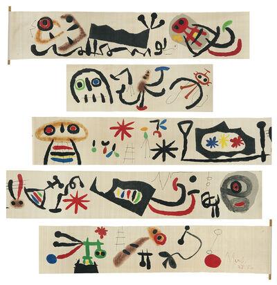 "Joan Miró, '""Makemono""', ca. 1956"