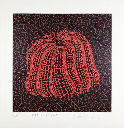 Yayoi Kusama, 'Pumpkin (RSQ)', 1998