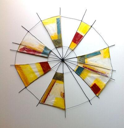 Emily Payne, 'Pinwheel (turquoise)', 2012