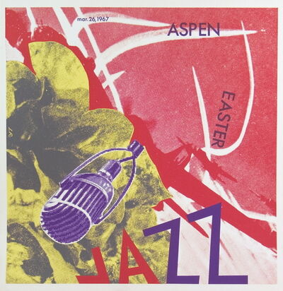 James Rosenquist, 'Aspen Jazz', 1967