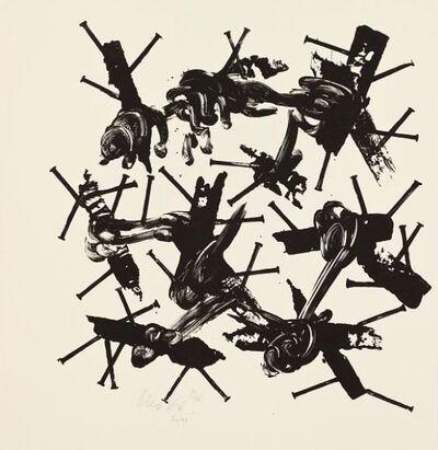 Günther Uecker, 'Hiob Seite 32', Unknown
