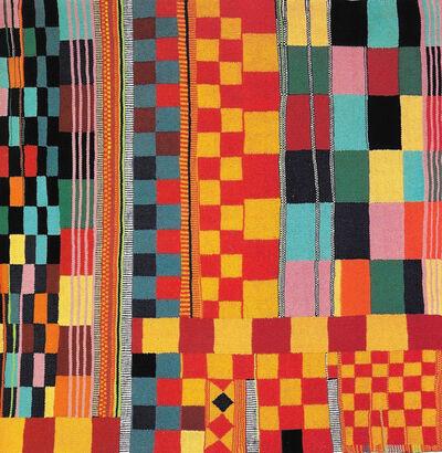 TERESA LANCETA, 'Tejida abstracción (amarillos-rojo)', 2000