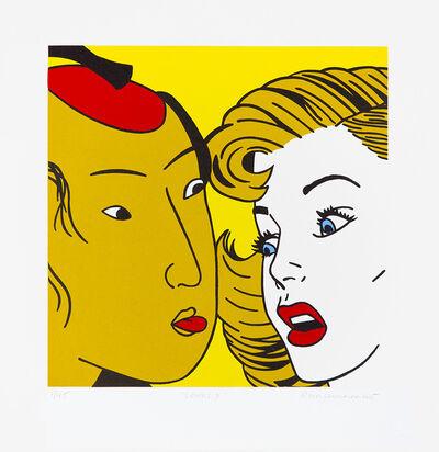 Roger Shimomura, 'Lovers #3', 2015