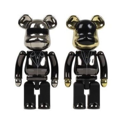 Medicom Toy, 'BE@RBRICK X DAFT PUNK Random Access Memories 200% (Set of 2)', 2009