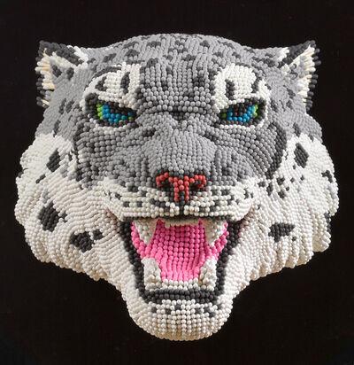 David Mach, 'Snow Leopard', ca. 2013
