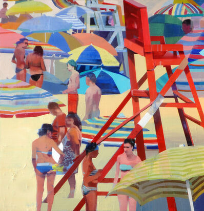 Suhas Bhujbal, 'Warm Day on the Beach', 2018