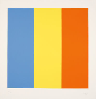 Ellsworth Kelly, 'Blue Yellow Red', 1990-1991