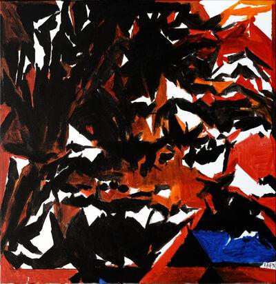 S. H. Raza, 'Tarpan', 1998
