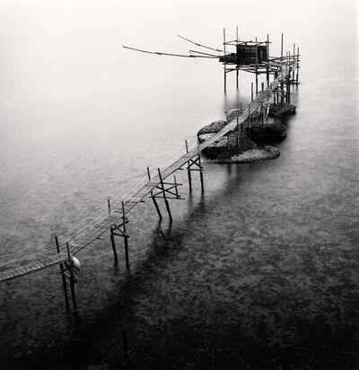 Michael Kenna, 'Trabocco Punta Aderci, Study 1, Vasto, Abruzzo, Italy', 2015