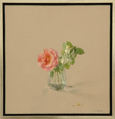 Isabel Quintanilla, 'Rosa con madreselva (roses with honeysuckle)', 2003