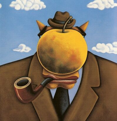 Markus Pierson, 'Art History Series, Suite II: Magritte', 2001