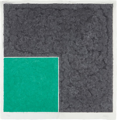Ellsworth Kelly, 'Colored Paper Image XVII', 1976