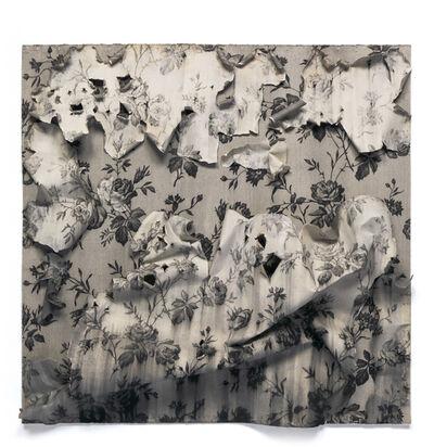 Joseph Stashkevetch, 'Torn Curtain #1 (Blue Roses)', 2015