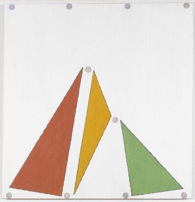 Martin Barré, '82-84-104 x 101', 1982-1984