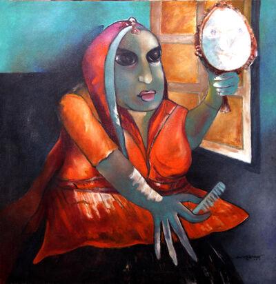 Manan Kumar Ray, 'Combing Lady', 2019