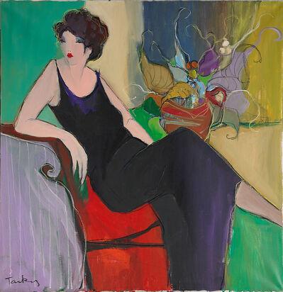 Itzchak Tarkay, 'Untitled (Seated Woman)'