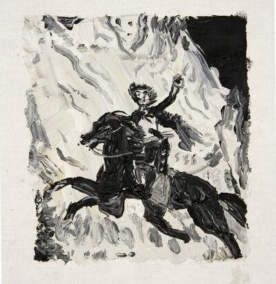 Christian Vinck, 'Murrieta escapando a caballo', 2014