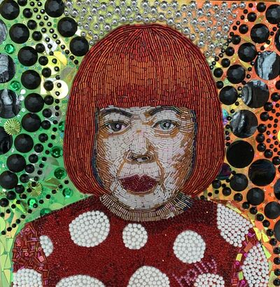 Holly Suzanne Rader, 'Yayoi Kusama', 2020