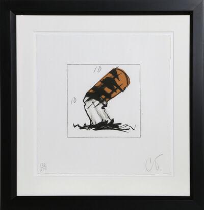 Claes Oldenburg, 'Cigarette Butt', 1991
