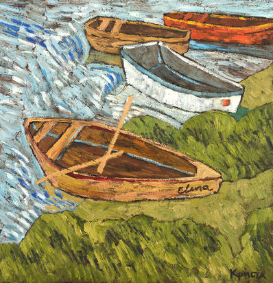 Christa Kirova, 'Boats', 2021