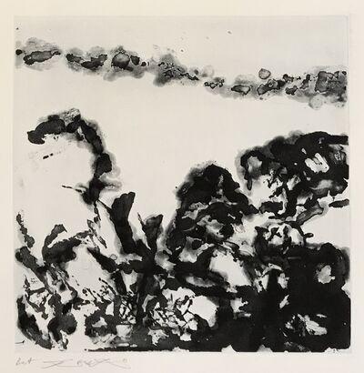 Zao Wou-Ki 趙無極, 'Éloge des choses extrêmement légères (362)', 1993