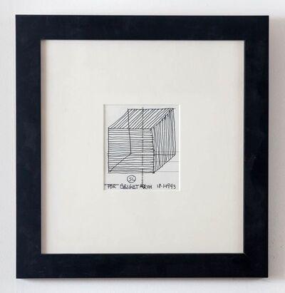 Sol LeWitt, '3D Cube', 1993