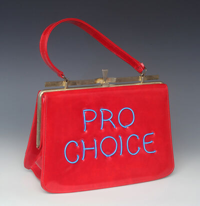 Michele Pred, 'Pro Choice (red)', 2018