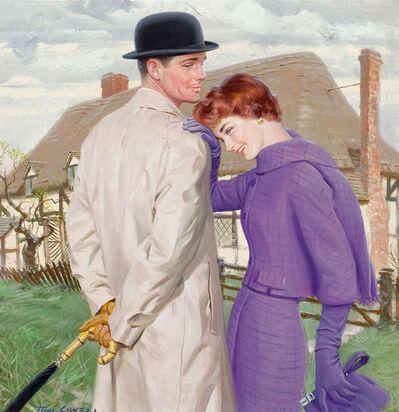 Tom Lovell, 'Love in the Midst, Magazine Illustration', 1950-1959