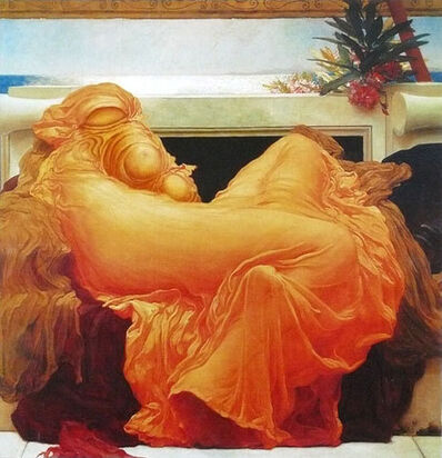 Charlotte Bracegirdle, 'Flaming June', 2008