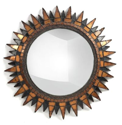 "Line Vautrin, '""Soleil À Pointes"" Mirror, Model No. 3', circa 1955"