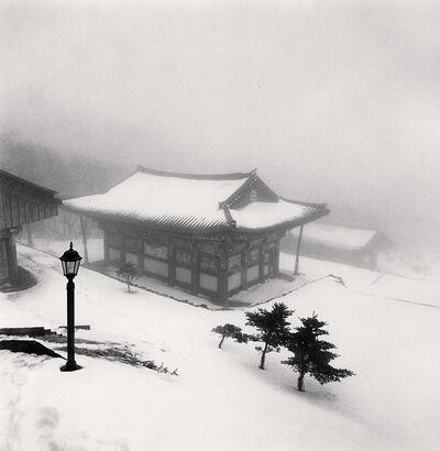 Michael Kenna, 'Lamp and Temple, Jonjaanji, Jeju Island, South Korea', 2012