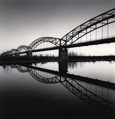 Michael Kenna, 'Bridge Reflection, Balossa Bigli, Pavia, Italy', 2019