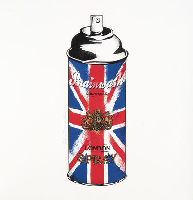 Mr. Brainwash, 'UK Can', 2012