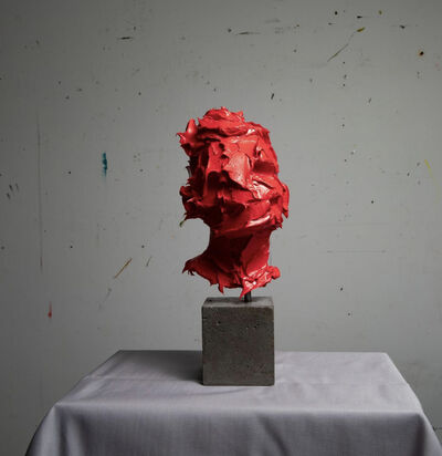 Salman Khoshroo, 'Sculpture in Red Oil Paint', 2020