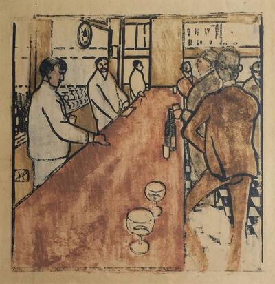 Jean-Emile Laboureur, 'Le Bar en Pennsylvanie', 1904