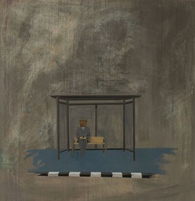 Amjad Ghannam, 'Waiting', 2015