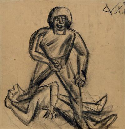Otto Dix, 'Soldier', Circa 1917