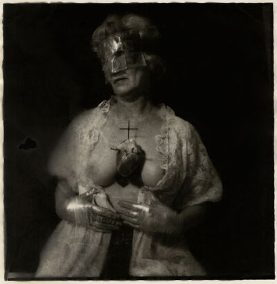 Joel-Peter Witkin, 'Woman in Mask', 1979