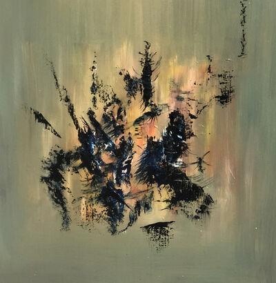 Christine Delalande, 'Black Fire', 2019