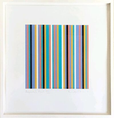 Bridget Riley, 'Serpentine Print', 1999