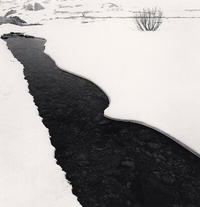 Michael Kenna, 'River Po in Winter, Pian della Regina, Crissolo, Cuneo, Italy', 2019